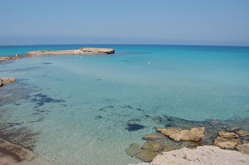 Foto della Spiaggia di Punta Pizzo a Gallipoli